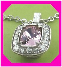 Brighton Reina Pink Crystal Necklace Jl6313 RTLS Petite Sparkle