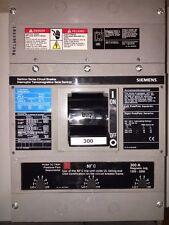 1 SIEMENS JXD6 JXD6-A JXD63M300 CIRCUIT BREAKER 300A 600V 3P 300 AMP 600 VAC