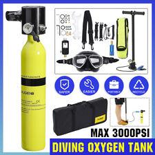 Diving Oxygen Cylinder Air Tank Pump Scuba Regulator Underwater With Mask