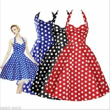 Polyester Party Dresses for Women's 1950s