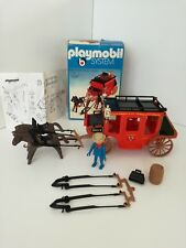 Playmobil 3245 v1 - Western Red Stage Coach Wells Fargo (OVP, Klicky)