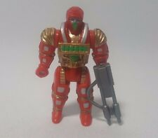 Computer Warriors Debugg Mini Figure w/Gun Mattel 1989 Toy Vintage