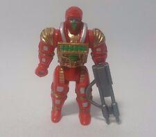 Computer Guerrieri DEBUGG Mini figura con pistola MATTEL 1989 giocattolo vintage
