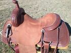 """16"""" Johnny Scott Ranch Cutting Saddle (Made in Texas) Cutter"""
