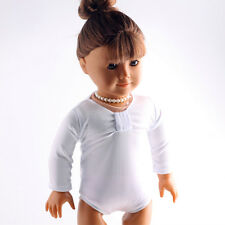 best gift white new clothes Swimwear for 18inch American girl doll summer b442