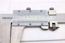 """Mitutoya 160-103 Nib Jaw Fine Adjustment Vernier Caliper 0-600mm / 0-24"""""""