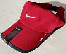 NEW! RARE Bordeaux #677 NIKE Adult Runner Cap DRI-FIT Tennis Hat FEATHERLIGHT
