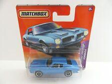 Matchbox Superfast Pontiac Firebird Formula - Blue - Mint/Boxed