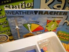 SMART LAB Weather Station Track wind rain temperature Book Included