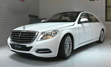 G LGB 1:24 Scale White Mercedes S Class 24051 2015 W222 Welly Diecast Model Car