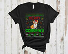 Merry Corgmas Ugly Christmas Funny Sweater Santa Corgi Dog Family Shirt, Mug