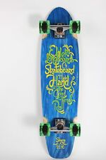 "Good Times 32"" Blue Skateboard Longboard"