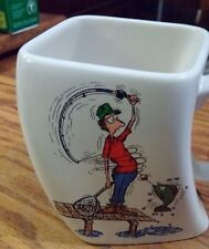 Fishing Mug The Results of Overcast Created by Golf Gifts Inc 1992
