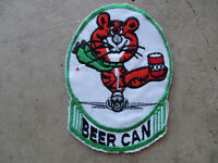 Vietnam 1970's Williams AFB ? Beer Can Drunk Tiger Fighter Pilot Squadron Patch