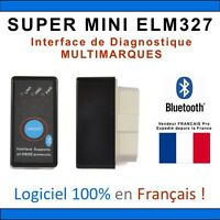 SUPER MINI ELM327 BLUETOOTH - Diagnostic MULTI MARQUES - OBDII -  ANDROID