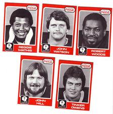 ~COMPLETE SET 1979 New Orleans Saints Coca-Cola Coke CARD SET- near mint-~