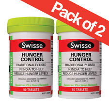 Swisse Hunger Control (Appetite Suppressant) 50 tablets x 2 (100 tablets)