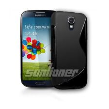 Black Gel TPU Silicone Case Skin Cover For Samsung Galaxy S4,S IV, GT-i9505,