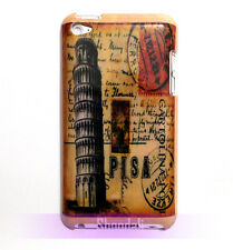 Tower of Pisa Vintage Design Hard Case Cover For iPod Touch 4 4th Gen Generation