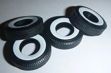 M55C MOEBIUS 1/25 50s WIDE WHITE-WALL TIRES SET Model Car Mountain whitewall