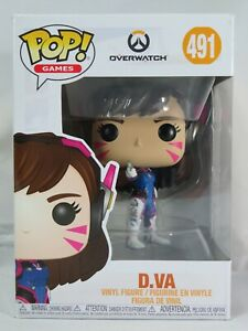 Games Funko Pop - D.VA - Overwatch - No. 492 - Free Protector