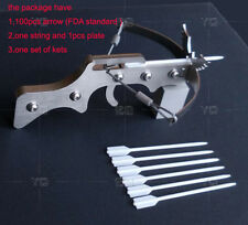 Fun Toy Stainless Tabletop Car Decoration Mini Crossbow New Slingshot Model