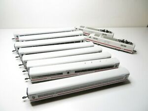 222N - Fleischmann N 7450 etc. - ICE Doppelpanto 10teilig der DB AG - top