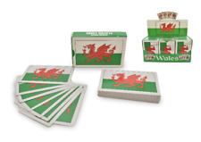 Wales Flag Traditional Playing Cards Welsh Deck Solitaire Poker Game Souvenir