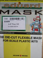 Eduard 1/48 EX594 Canopy Mask (tface) Pour le Hobby Boss A-4F Skyhawk Kit