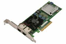Dell /Intel Dual Port 10Gb X520-T2 Ethernet PCI-e Network Adapter 0JM42W £83+vat