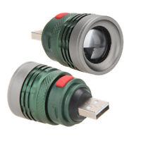 Aluminium USB LED Power Bank Mini Flashlight Head Lamp 3W Extension Light Torch