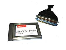 Adaptec SCSI zu PCMCIA SlimSCSI  1460D 50 pin Centronics  1807400 B #100
