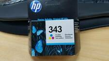 ORIGINAL GENUINE HP 343 TRI- COLOUR INK CARTRIDGES (C8766EE) - CLEARANCE