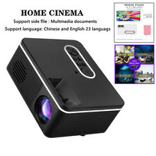 TFT LCE Portable LED Projector HD Home Cinema Theater System PC Laptop iPhone