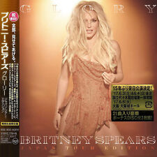 "BRITNEY SPEARS ""GLORY"" JAPAN TOUR EDITION 2CD +BONUS TRACK *SEALED"""