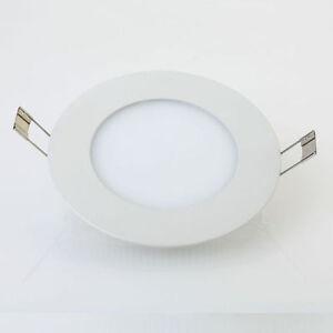 Surface Mounted LED Panel Light Round Ceiling Downlight Lamp Kitchen Bathroom UK