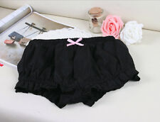 Lolita white pink black cosplay LUMINOUS MISSION HIGH SCHOOL bloomer short Pants