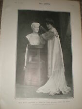 Printed photo actress maud Jeffries in The Eternal City 1903 rf Z