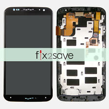Motorola Moto X 2nd Gen XT1097 XT1095 LCD Display Touch Screen Digitizer + Frame