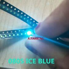 100 Stück SMD LED 0805 Eis-Blau SMDs Tacho KFZ Ice-Blaue LEDs