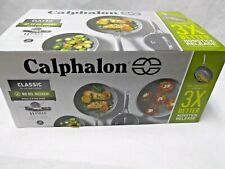 New listing New Calphalon Classic 11Pc Oil Infused Ceramic Cookware Set #2064709