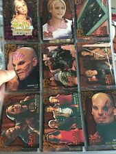 Buffy the Vampire Slayer  Season 3 Trading Cards Base Set 1-90- Freepost Sleeved