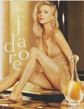 publicité de presse parfum DIOR j'adore Charlize Theron french press ad 2018