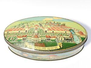 1929 North East Coast Exhibition Newcastle Souvenir Cremona Tin A.S. Wilkin