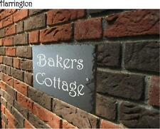 Slate Traditional Decorative Plaques & Signs