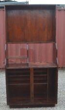 Antique display cabinet shop cupboard