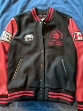 Roots x Toronto Raptors NBA Championship Limited Edition Varsity LARGE Jacket