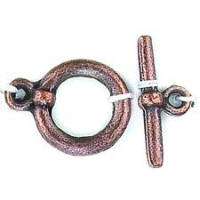 Kettenverschluss Knebelverschluss altkupfer 15 mm