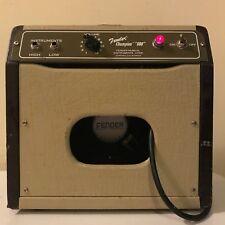 Vintage Fender Champion 600 5 watt Guitar Amp 12 AX7 6V6 GT Tube