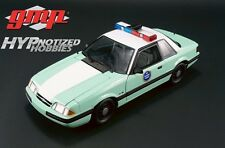 GMP 1:18 1988 FORD MUSTANG DIE-CAST GREEN 18845